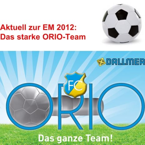 Dallmer: on your maaaarks, FC ORIO joins the team with its elegant design - our special Euro 2012 model