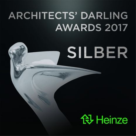 "Architects' Darling 2017 – Silver for Dallmer in the category ""Best Product Presentation Film"""