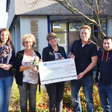 Donation for the Balthasar Children and Young Adults' Hospice: Dallmer workforce upholds tradition