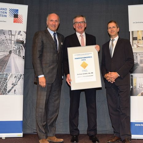 """Pioneering application"" - the CeraWall S shower channel has been awarded the Innovation Award by the German Tile and Natural Stone Association"